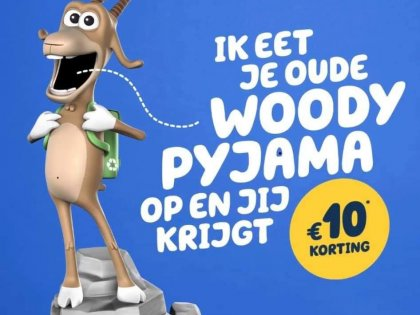 Inruilactie Woody pyjama
